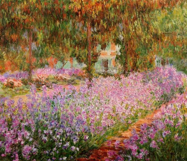 Irises in Monet s Garden